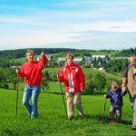 Im Sommer lädt das Osterzgebirge zum Wandern ein